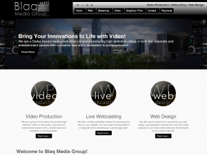 Website Visual - Blaq Media Group